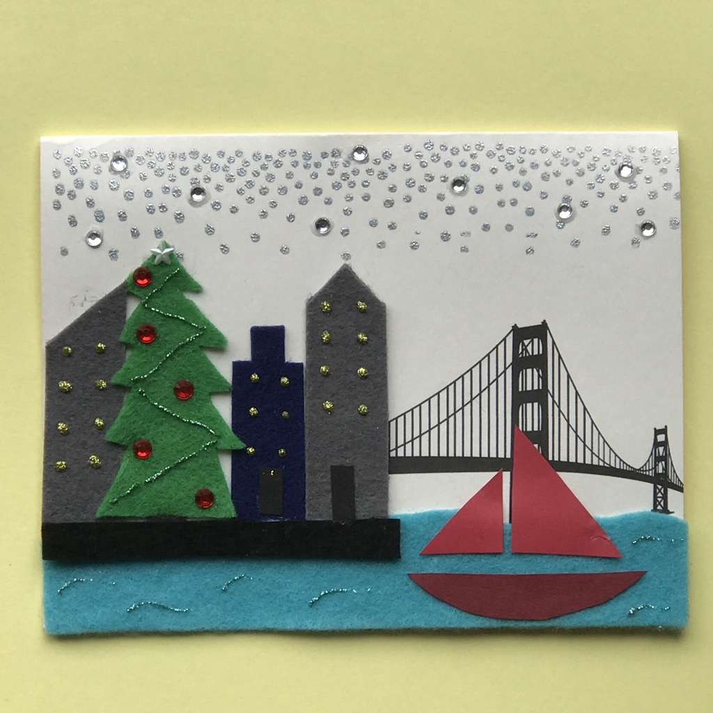 San francisco merry christmas jeannies greetings did you leave your heart in san francisco m4hsunfo