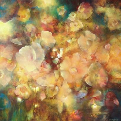 Eté (huile sur toile 50x 50 cm)