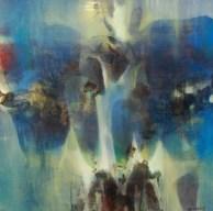 Les anges gardiens (acrylique sur toile) 2016