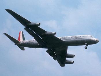 An Alitalia Douglas DC-8