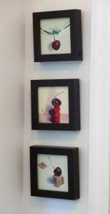 Minis hanging