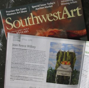 My work in Southwest Art magazine