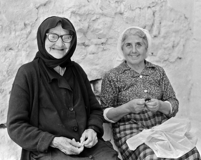 Portrait of a Mother and Daughter on Samos