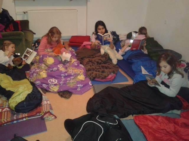 Die lange Lesenacht im Oktober 2012