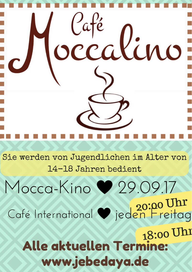 Mocca-Kino am 29. September!
