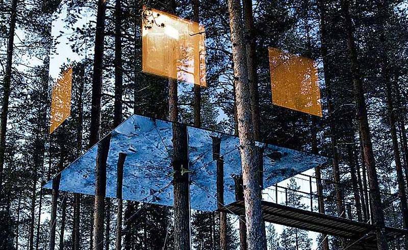 Treehotel In Sweden Designer Hotel In Northern Sweden