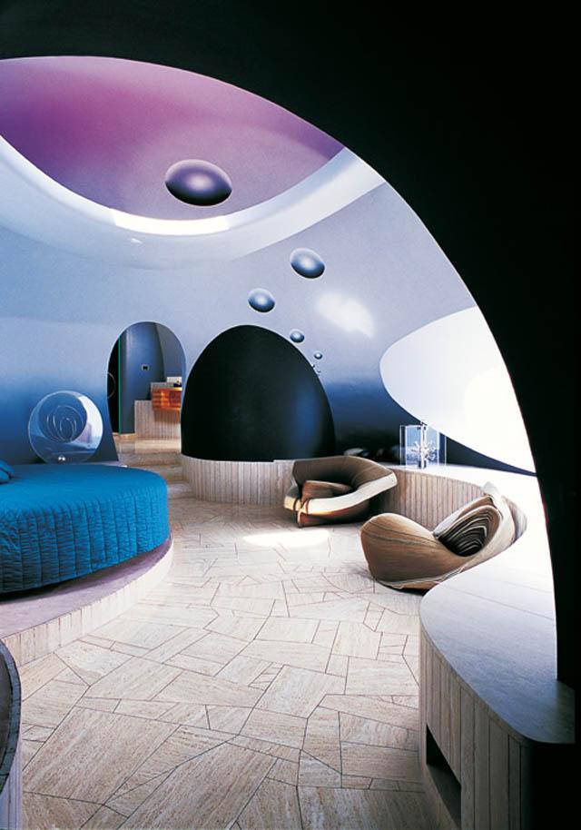 Palais Bulles Pierre Cardin S Bubble House By Antti