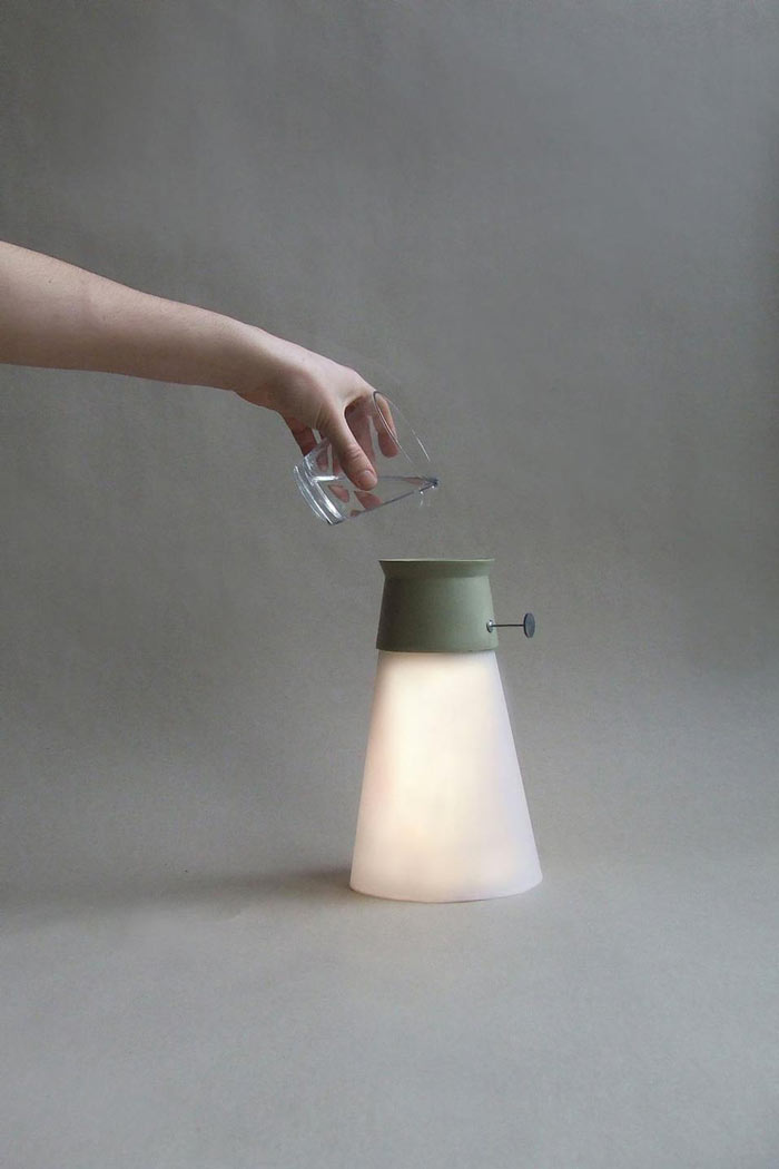 Wat Led Cordless Lamp Powered By Water