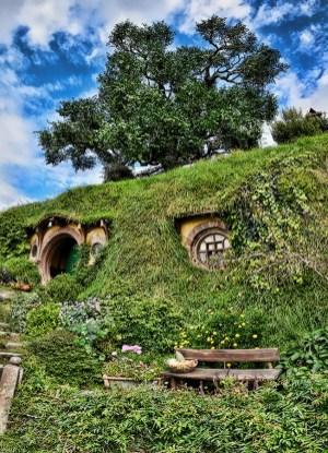 Matamata - Hobbiton - New Zealand 2016 - Panorama