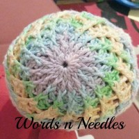 Candy Swirl Newborn Crochet Hat Pattern