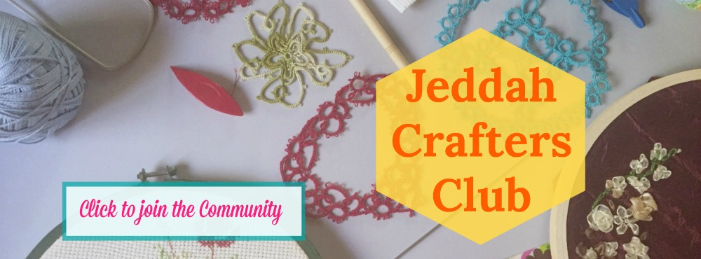 Jeddah Crafters Club Ad Join the JeddahMom community for craft lovers
