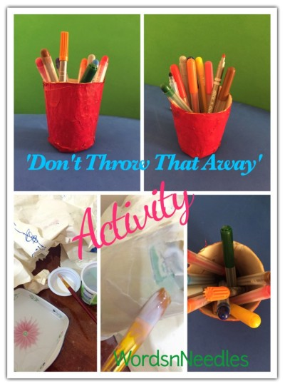 don't throw that away activity
