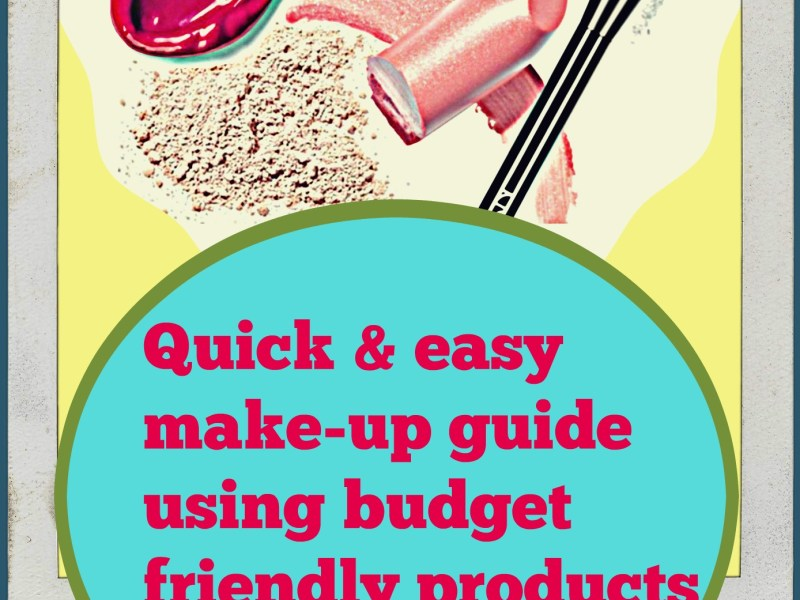 quick easy make up quide budget friendly product reviews wordsnneedles
