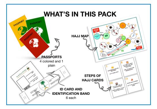 Let us play Hajj Hajj Activities for KIds   JeddahMom