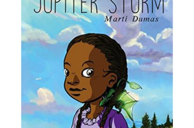 Jupiter Storm By Marti Dumas Book review for Multicultural Children Books Day #ReadYourWorld JeddahMom