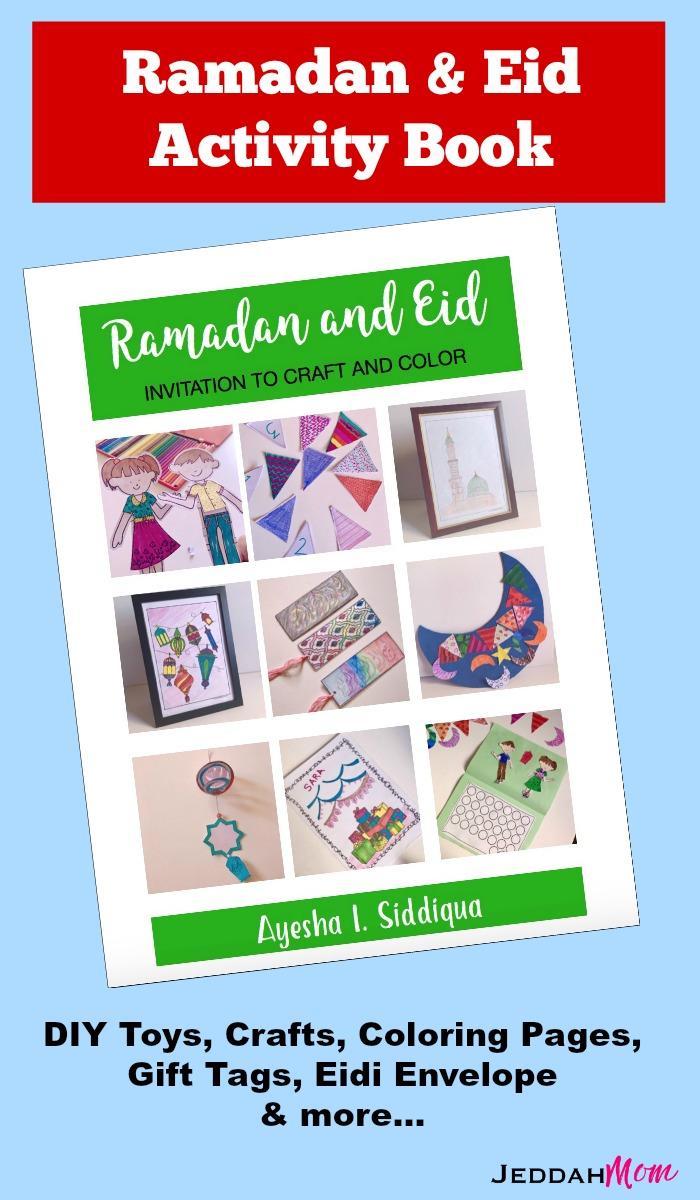 Ramadan Activities for Kids Eid for kids Ramadan coloring pages Islamic Crafts Ramdan Invitation to play JeddahMom