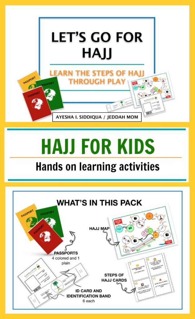 Hajj Activity Pack for Kids  | JeddahMom