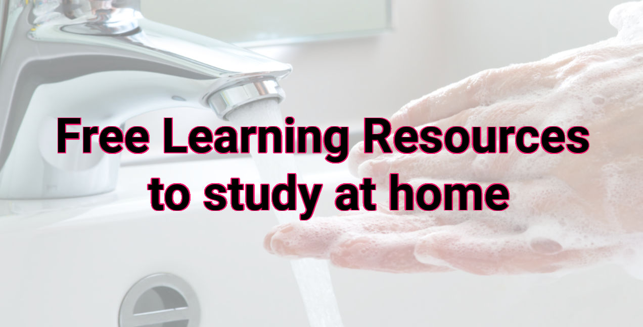 Free Learning Resources to study at home