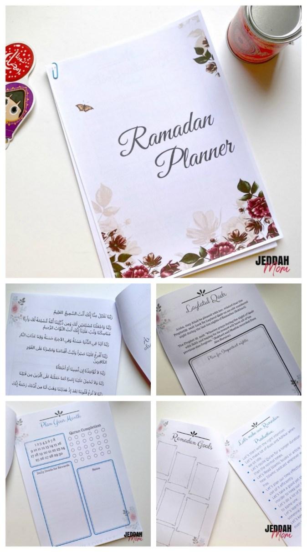 Printable Ramadan Planner Goal setting and Eid preparation JeddahMom