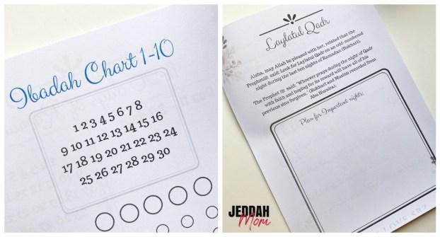 Ramadan planner collage | JeddahMOm