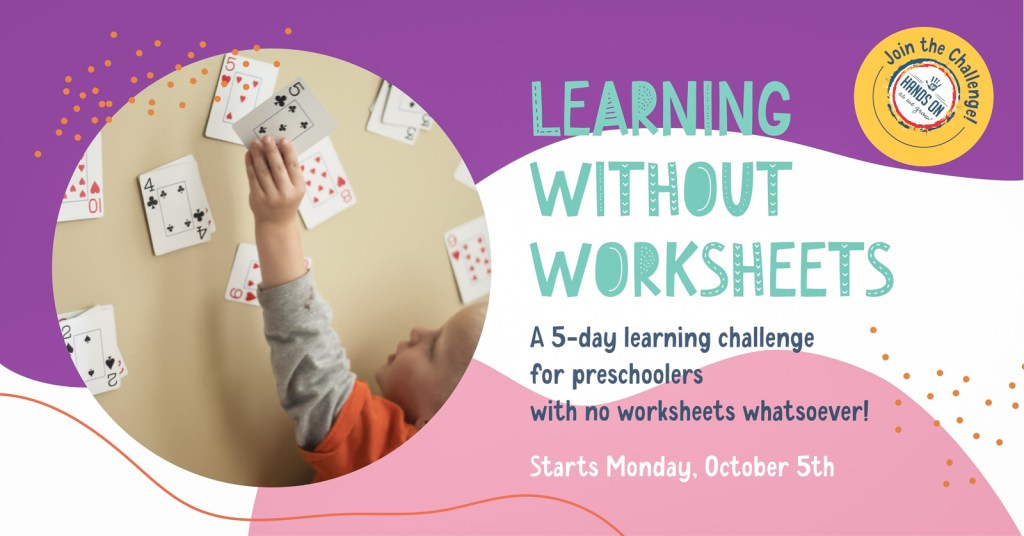 Learning without Worksheets