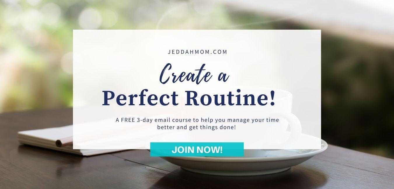 Make-a-Perfect-Routine