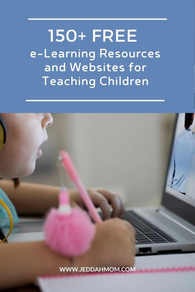 free elearning resources and websites for teaching children