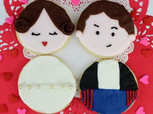 Han and Leia Cookies