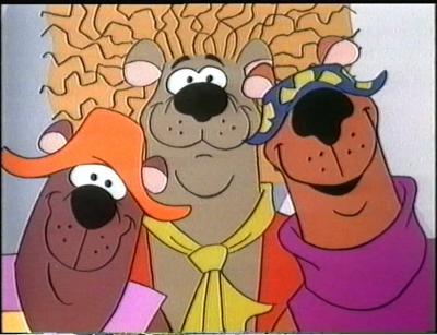 Hair Bear Bunch Childrens TV Jedis Paradise