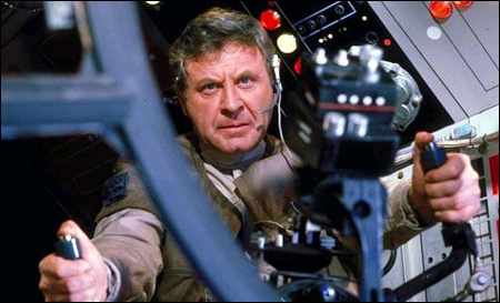 Then Colonel Cracken inside the Millennium Falcon at the Battle of Endor (Image Credit: Jedi Temple Archives)