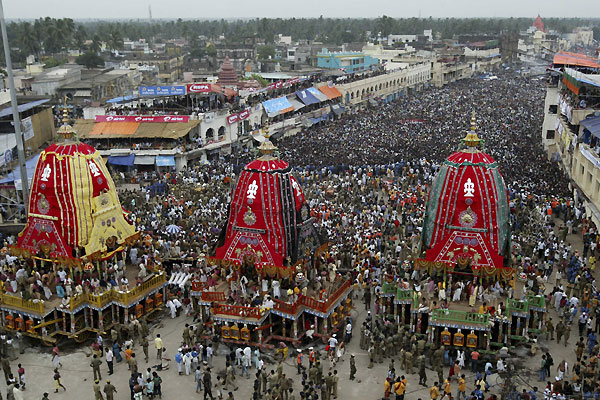 Introduction of Lord Jagannath chariot in Hindi