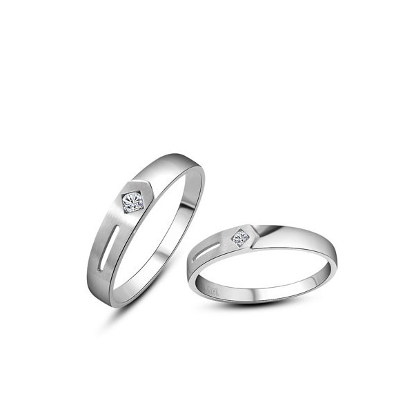 Gorgeous His And Hers Anniversary Gift Rings 020 Carat
