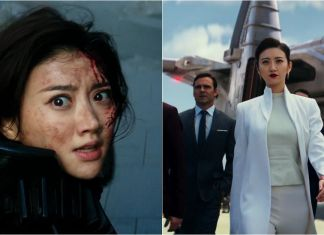 เรื่องราวจีน จิ่งเถียนนักแสดงสาวได้ร่วมแสดงในภาพยนตร์ฮอลลีวู้ดเรื่อง Pacific RIm Uprising