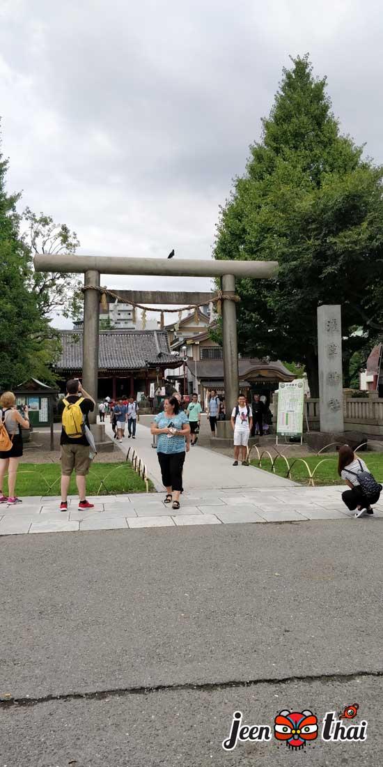 วัดอาซากุสะ Asakusa Temple หรือ ( วัดเซ็นโซจิ ) Sensoji Temple