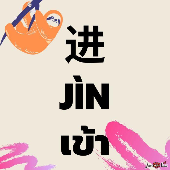 คำศัพท์ภาษาจีน บอกทิศทาง