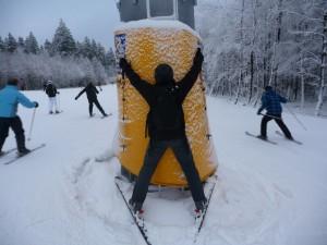 Furchtbarer Skiunfall