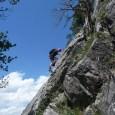 Begehungsbericht des Klettersteigs Croix de Toulouse oberhalb von Briançon.