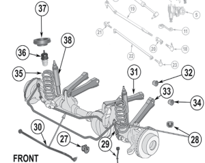 Front Suspension Basics 101  Jeep Cherokee Forum