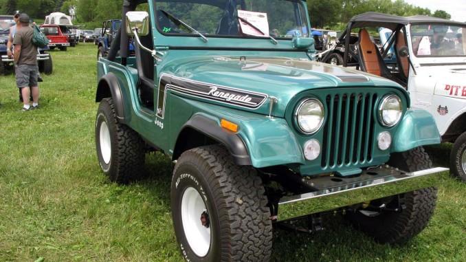 Garys Restored Green 1974 Jeep Renegade CJ 5 AMC304