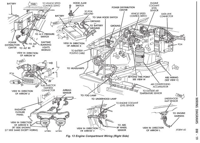 jeep 4 0 starter wiring diagram  auto wiring diagrams law