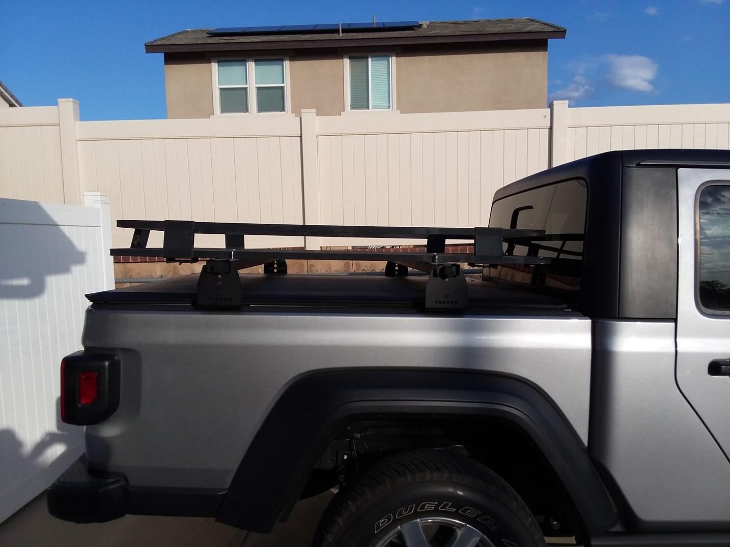 own half rack jeep gladiator forum