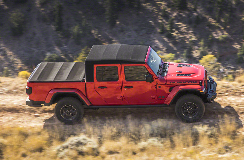More Details On Jeep Gladiator Soft Top And Tonneau Cover