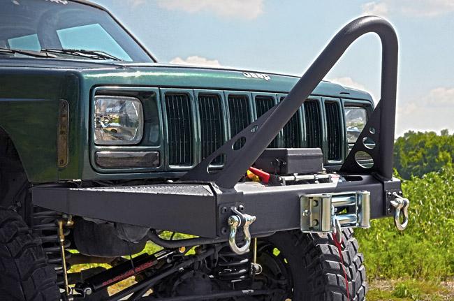 Rough Country Jeep XJ Cherokee Winch Bumper 1057