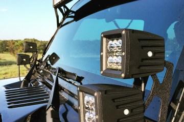 "Auxbeam Dual 4"" Cube Lights"