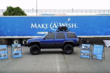 Make-a-Wish Lucas Jeep