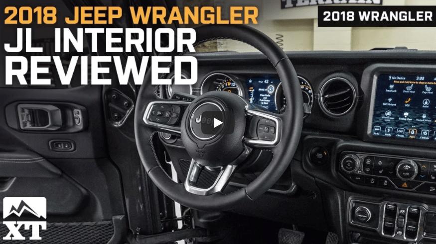 2018 Jeep Wrangler Jl Interior Reviewed Jeepmodreview Com