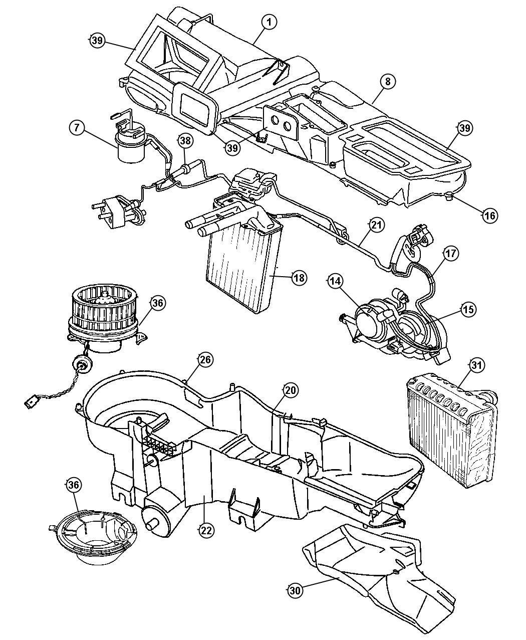 Jeep Liberty Parts Diagram