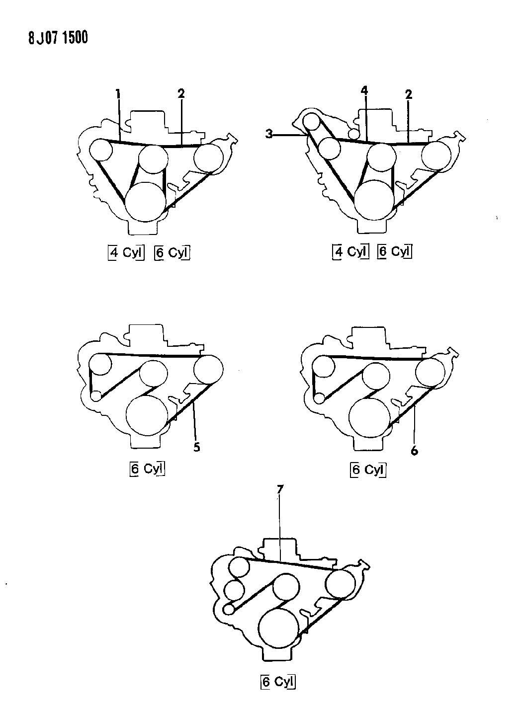 Diagram Jeep Wrangler Engine Belt Diagram Full Version