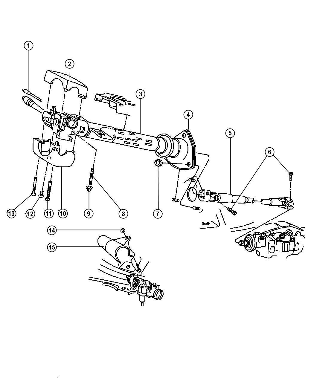 Jeep Grand Cherokee Screw Mounting Filister Head 8 16x