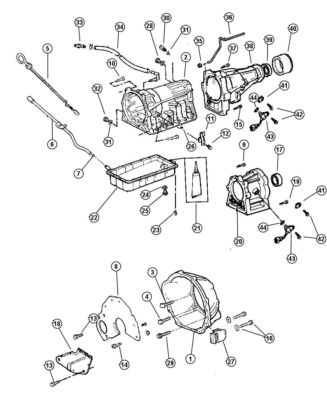Jeep Cherokee Breather Transmission Stop Start Single